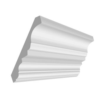 15MM X 5'' X 16' CROWN MOULDING MDF #1868, 16' only