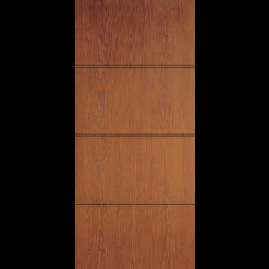 THERMATRU® IMPACT 30X80X1-3/4 OPAQUE 4 PANEL FIBERGLASS DOOR