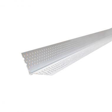 PLASTIC CORNERBEAD 120 TO 160 DEGREES 10'