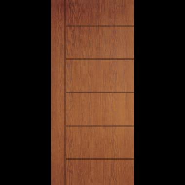 THERMATRU® IMPACT 36X80X1-3/4 OPAQUE 7 PANEL FIBERGLASS DOOR