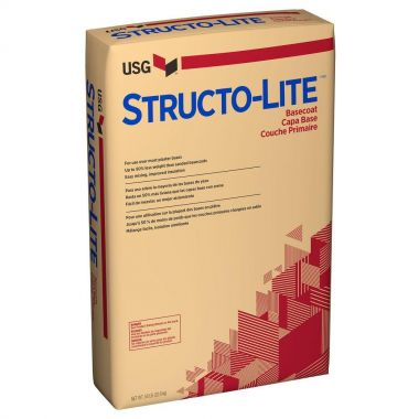 STRUCTOLITE (READY MIX PLASTER) 50LB BAG
