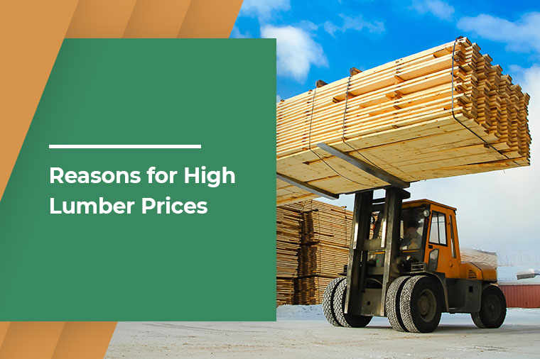 Reasons for High Lumber Prices
